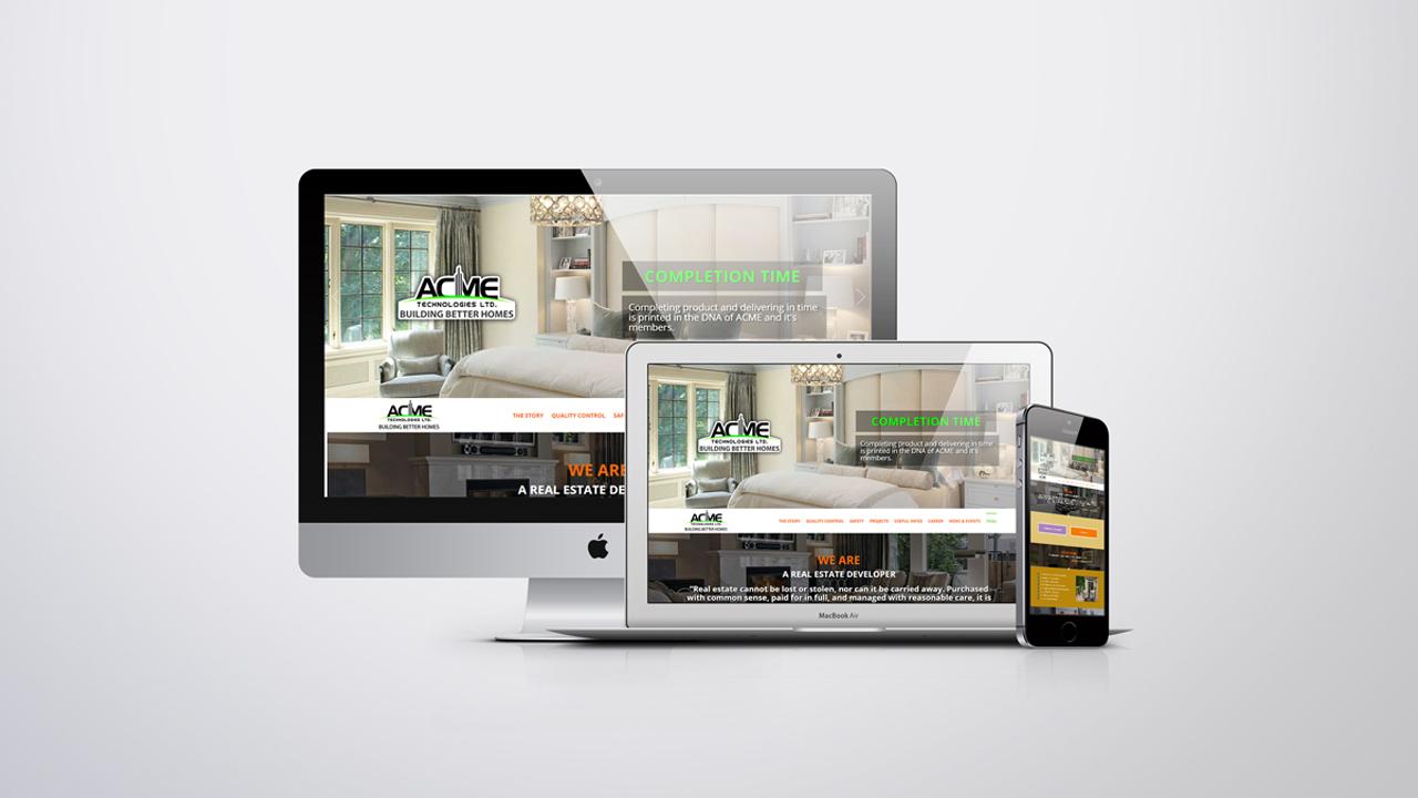 Real Estate company website development in Bangladesh