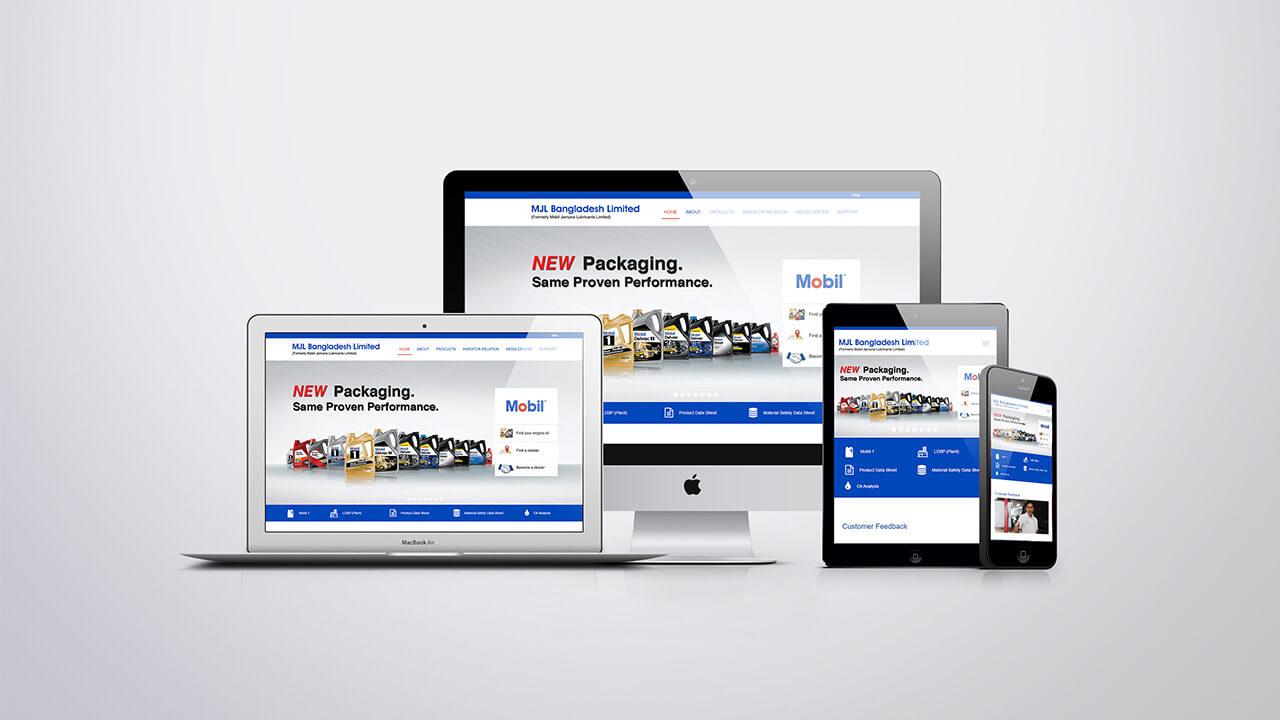 Web design company for Mobil